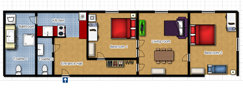 Your Apartments - Vltava Apartment 2 Plano