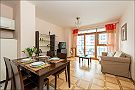 Beautiful apartment in Warsaw Sala de estar